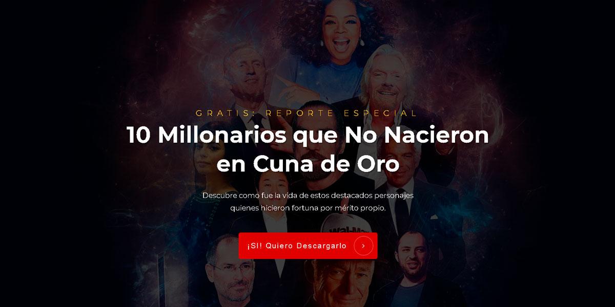 10 Millonarios Que No Nacieron Ricos